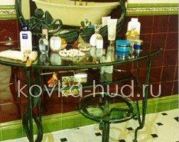 Зеркало кованое kzl-01420