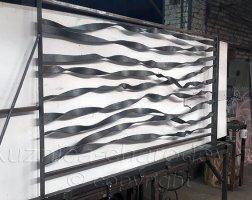 Изготовление кованых перил для частного дома