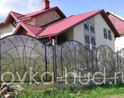 Забор кованый kz-06