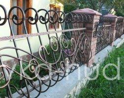 Забор кованый kz-13