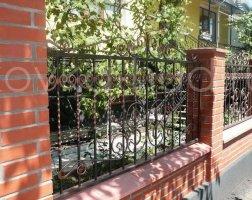 Забор кованый kz-16