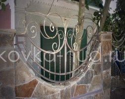Забор кованый kz-17
