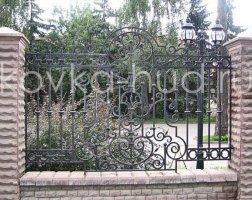 Забор кованый kz-27