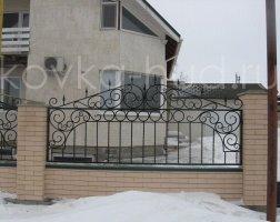 Забор кованый kz-33