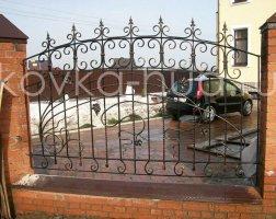 Забор кованый kz-36