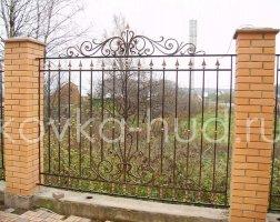 Забор кованый kz-39