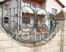 Забор кованый kz-41