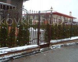 Забор кованый kz-42
