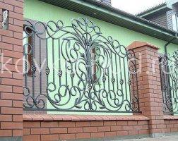 Забор кованый kz-45