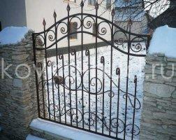 Забор кованый kz-48