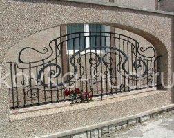 Забор кованый kz-49