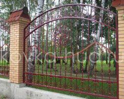 Забор кованый kz-52