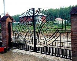 Ворота кованые kv-10