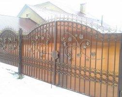 Ворота кованые kv-11