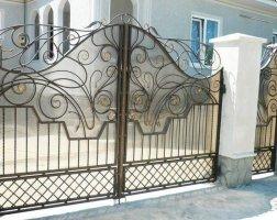 Ворота кованые kv-14