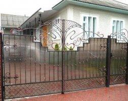 Ворота кованые kv-20