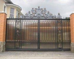 Ворота кованые kv-21