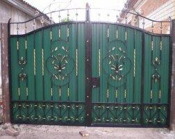 Ворота кованые kv-23
