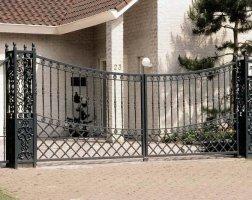 Ворота кованые kv-25
