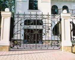Ворота кованые kv-26