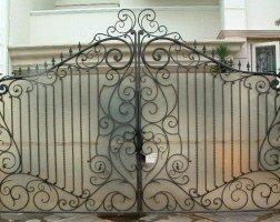 Ворота кованые kv-29