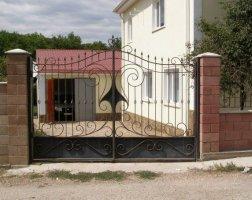 Ворота кованые kv-32