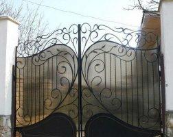 Ворота кованые kv-34