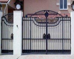 Ворота кованые kv-36