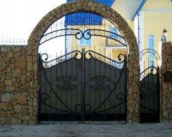 Ворота кованые kv-38