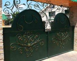 Ворота кованые kv-42