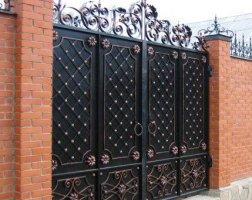 Ворота кованые kv-44