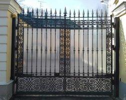 Ворота кованые kv-48