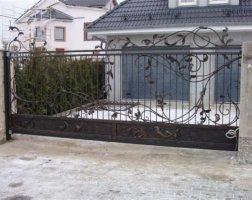 Ворота кованые kv-55