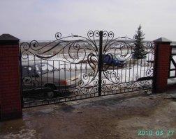 Ворота кованые kv-57
