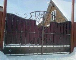 Ворота кованые kv-60