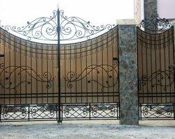 Ворота кованые kv-63