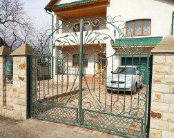 Ворота кованые kv-64