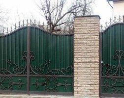 Ворота кованые kv-65
