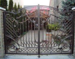 Ворота кованые kv-66