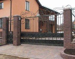 Ворота кованые kv-67