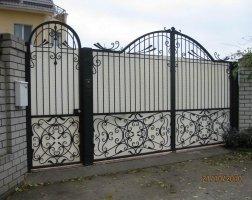 Ворота кованые kv-77