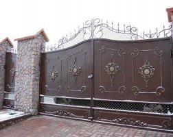 Ворота кованые kv-78