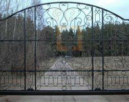 Ворота кованые kv-79
