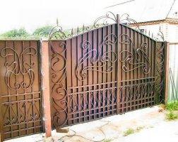 Ворота кованые kv-80
