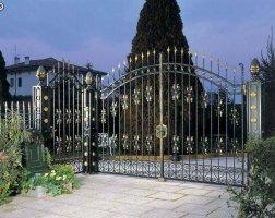 Ворота кованые kv-81