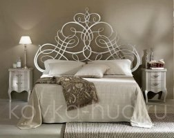Роскошная кровать кованая rk-0904