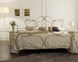 Роскошная кровать кованая rk-0905