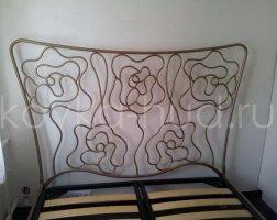 Роскошная кровать кованая rk-0906