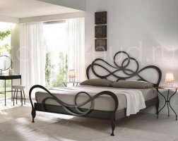 Роскошная кровать кованая rk-0908