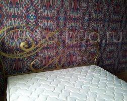 Роскошная кровать кованая rk-0909